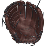 "Wilson A2000 B212 SuperSkin 12.00"" Pitcher's Glove - Black Coffee - Hit A Double - 2"