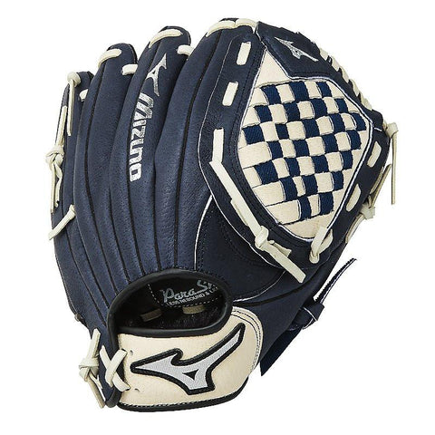 "Mizuno Prospect Youth 11.00"" Utility Glove - Navy Cream"