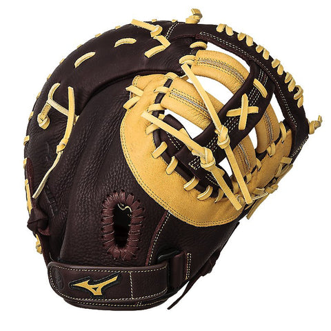 "Mizuno Franchise 12.50"" GXF90B2 1st Base Mitt -Coffee Cork"