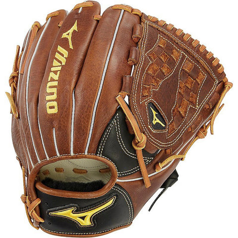 "Mizuno Classic 11.50"" Fastpitch Utility Glove GCF1150F2 - Black Brown"