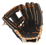 "Mizuno Pro Select 11.75"" Infield Glove GPS1BK-600S Shallow Pocket - Black"