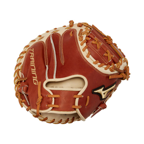 "Mizuno Pro Select 27.50"" GPS1T Training Catcher's Mitts GPS1T - Brown Cork"