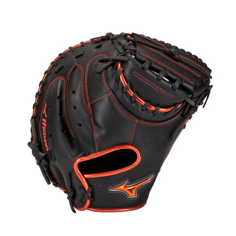 "Mizuno MVP Prime SE 34.00"" Catcher's Mitt - Black Red"