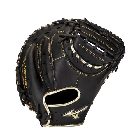 "Mizuno MVP Prime SE 34.00"" Catcher's Mitt - Black Gold"