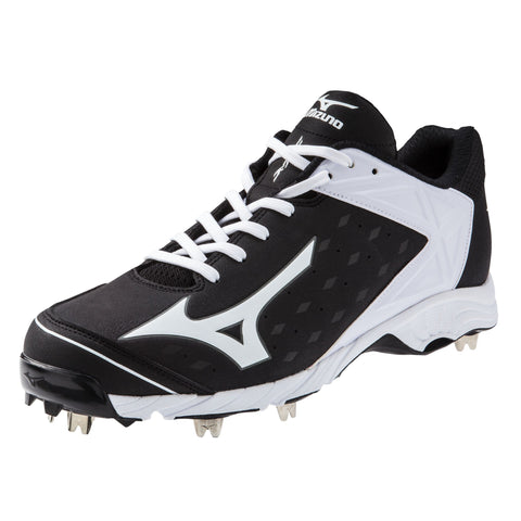 Mizuno 9-Spike Advanced Swagger 2 Low Men's Metal Cleats - Black White