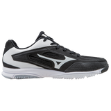 Mizuno Players Trainer - Black White - Hit A Double  - 2