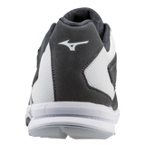 Mizuno Players Trainer - Black White - Hit A Double  - 3
