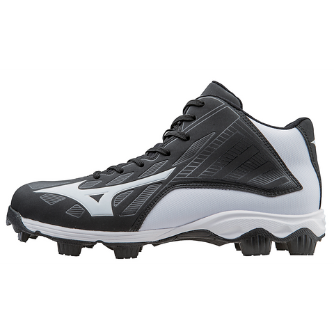 Mizuno 9-Spike Advanced Franchise 8 Mid - Black White