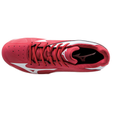Mizuno 9-Spike Advanced Franchise 8 Low - Red White - Hit A Double  - 4