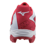 Mizuno 9-Spike Advanced Franchise 8 Low - Red White - Hit A Double  - 3