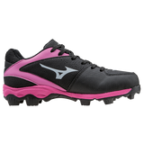 Mizuno 9-Spike Advanced Youth Finch Franchise 6 - Black Pink