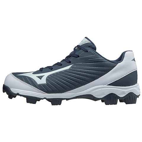 Mizuno Men's 9-Spike Advanced Franchise 9 Low Molded Cleats - Navy White