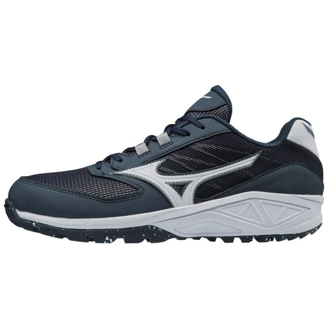 Mizuno Dominant All-Surface Low Turf Shoe - Navy White
