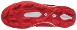 Mizuno Select Nine Low Molded Cleats - Red White