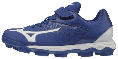 Mizuno Select Nine Low Molded Cleats - Royal White