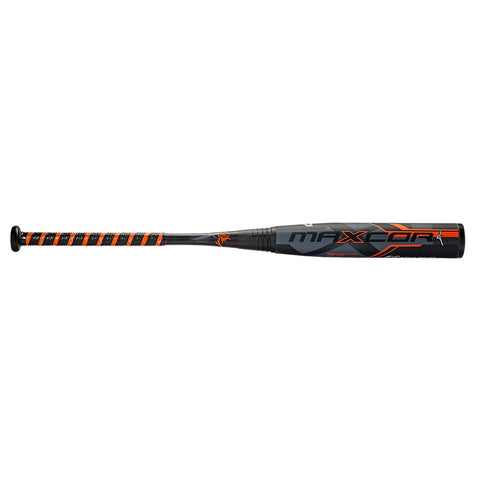Mizuno 2016 Maxcor (-3) BBCOR Bat - Black Mandarin Orange
