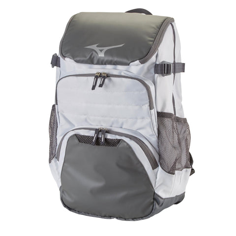 Mizuno Organizer OG5 Backpack - White Gray