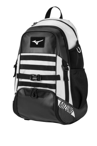 Mizuno MVP Backpack X - Black White