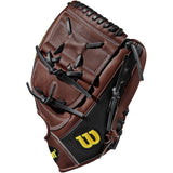 "Wilson A2000 B212 SuperSkin 12.00"" Pitcher's Glove - Black Coffee - Hit A Double - 4"