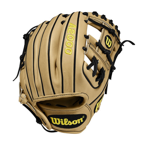 "Wilson 2020 A2000 PF88 11.25"" Pedroia Fit Infield Glove - Black Cork - Baseball Glove - Hit A Double - 1"