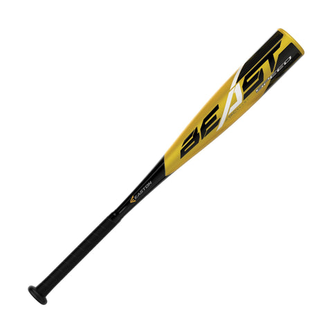 "Easton 2019 Beast Speed (-10) Jr Big Barrel 2 3/4"" Bat - Black Gold"