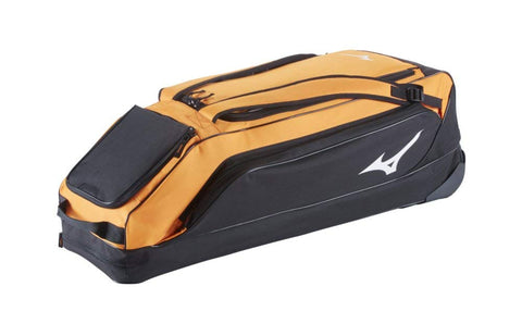Mizuno Classic Wheel Bag G2 - Orange