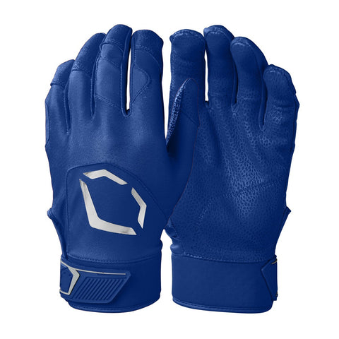 EvoShield Adult Evo Standout Batting Gloves - Royal - HIT A Double