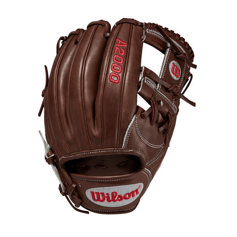 "Wilson 2020 A2000 1787 11.75"" Infield Glove WTA20RB201787 - Brown - Baseball Gloves - Hit A Double - 1"
