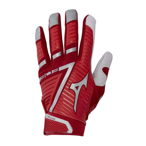 Mizuno B-303 Batting Gloves - Red Cardinal