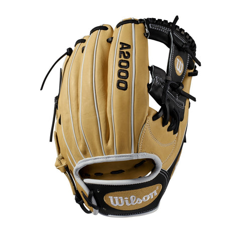 "Wilson 2019 A2000 1787 11.75"" Infield Glove WTA20RB191787 - Cork Black - Hit A Double - 1"