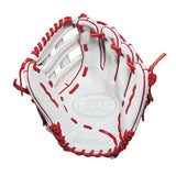 "Louisville Slugger TPS 13.00"" Slowpitch Utility Glove - White Red"