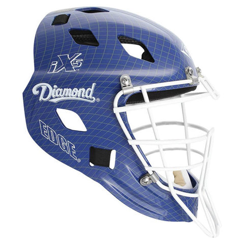 Diamond DCH-Edge Pro Catcher's Helmet Small - Royal White