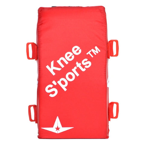 All-Star Delta-Flex Knee Sports - Scarlet