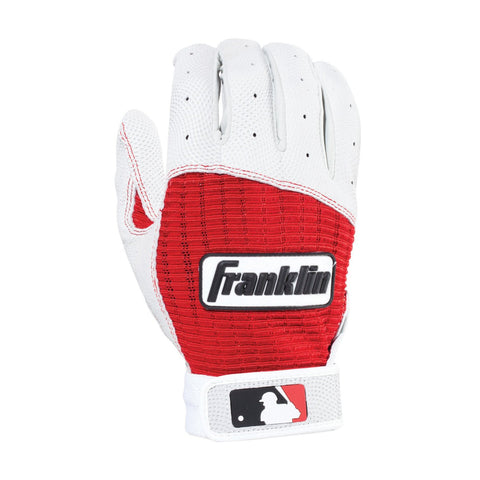 Franklin Pro Classic Youth Batting Gloves - Pearl Red
