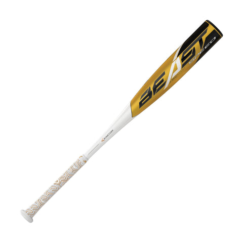 "Easton 2019 Beast Speed (-11) USA approved 2 5/8"" Bat - White Gold"