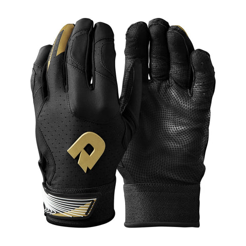 DeMarini CF Adult Batting Gloves - Black