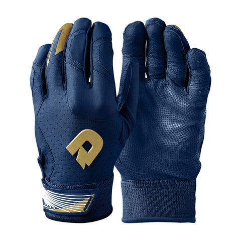 DeMarini CF Adult Batting Gloves - Navy
