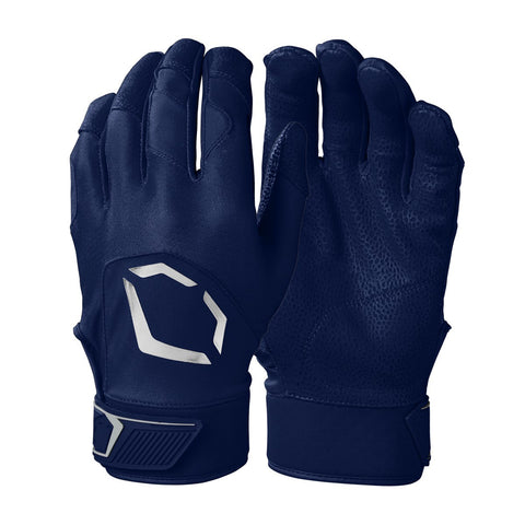 EvoShield Adult Evo Standout Batting Gloves - Navy - HIT A Double