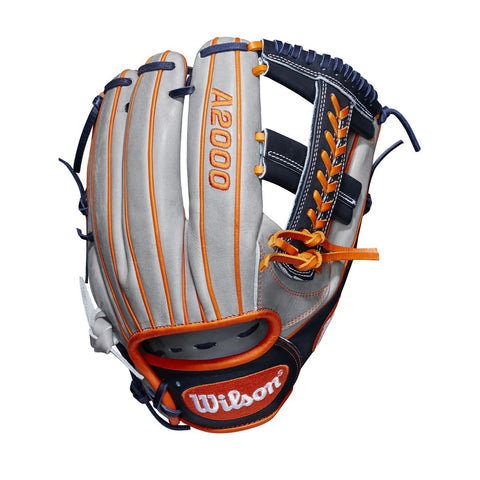 "Wilson 2019 A2000 CC1 GM 11.75"" Infield Glove WTA20RB19CC1GM - Gray Black - Hit A Double - 1"