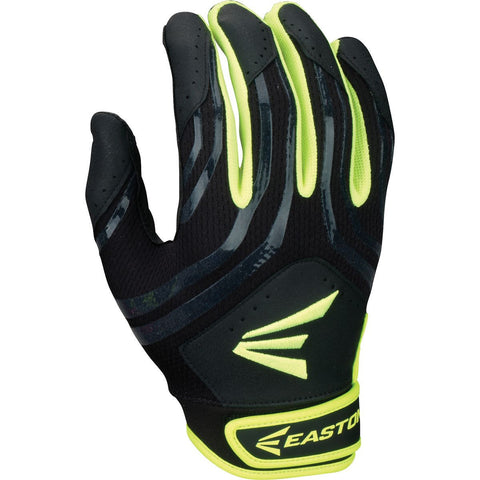 Easton HF3 Hyperskin Fastpitch Batting Gloves - Black Optic