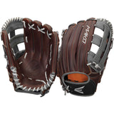 "Easton Mako Legacy 12.75"" H-Web Outfield Glove - Brown Gray"