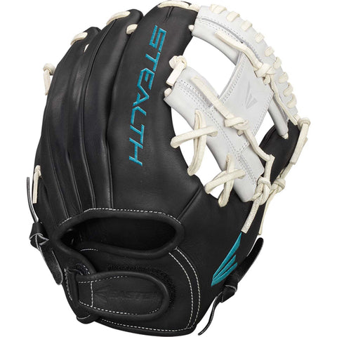 "Easton Stealth Pro 11.75"" FP Infield Glove - Black White"