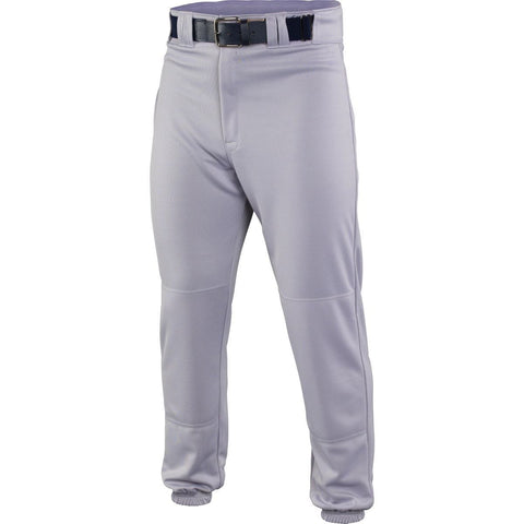 Easton Deluxe Adult Baseball Pants - Gray - Baseball Apparel - Hit A Double