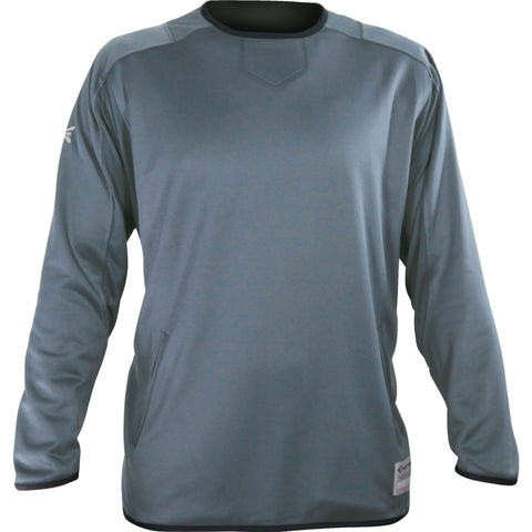 Easton Adult M7 Long Sleeve Fleece Jacket - Granite