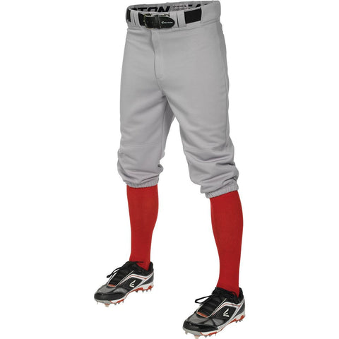 Easton Pro+ Knicker Baseball Pant -Gray - Baseball Apparel - Hit A Double - 1