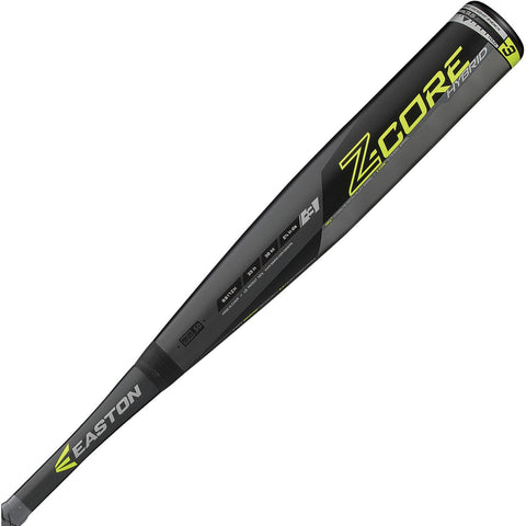 Easton 2017 Z-CORE Hybrid (-3) BBCOR Bat - Black Lime