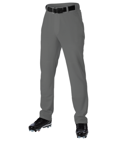 Alleson 605WLPY Youth Baseball Pant - Charcoal - Baseball Apparel - Hit A Double
