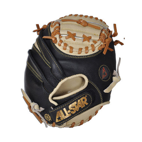 "All-Star The Pocket CM100TM 27.00"" Training Catcher's Mitt - Tan Black"