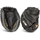 "All-Star Pro-Elite Series 33.50"" CM3000SBK-1 Catcher's Mitt - Black"