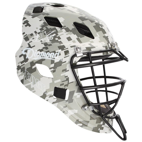 Diamond DCH-Edge Pro Catcher's Helmet Small - Dark Green Camo